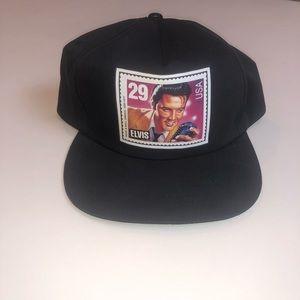 Vintage Elvis 29 Cents Postage Stamp Snapback Hat